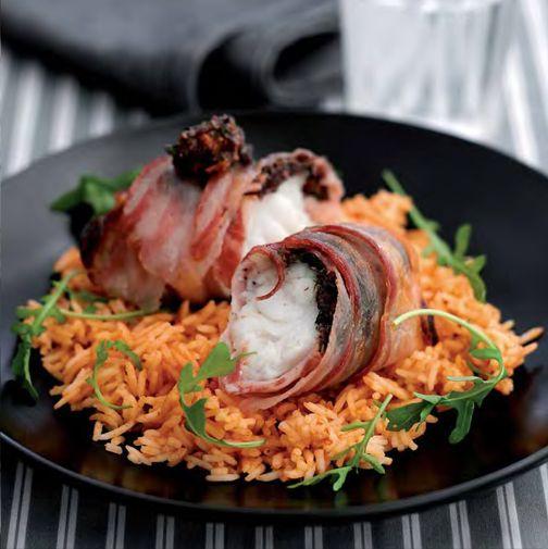 NEFF - CookingPassion Blog: Involtini di coda di rospo_al forno con riso ai pomodori #ricette #Neff #cookingpassion
