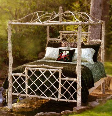 another twig bed from country home maine