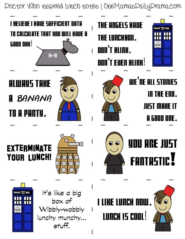 doctor-who-lunch-notes