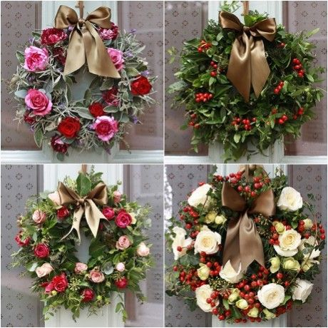 Ladies home journal christmas wreaths | ... Christmas door wreaths to adorn your home... | Heart Home magazine