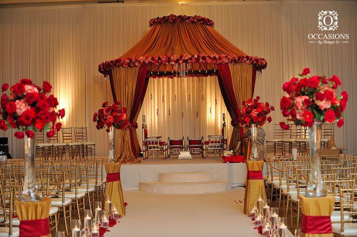 Indian Wedding Mandaps | Event Decorators : Occasions By Shangri-la