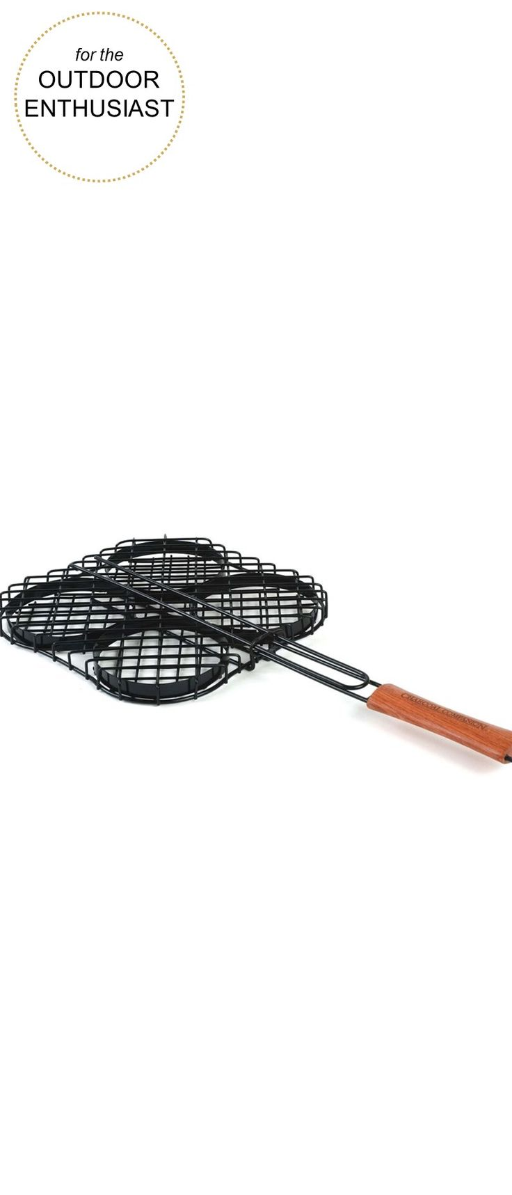 Gifts for the Outdoor Enthusiast |  Charcoal Companion® Hamburger Grilling Basket | Very Merry Gift Guide