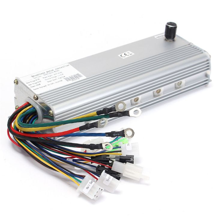 Best Price 48V/72V 1500W Electric Bicycle Brushless Motor Controller For E-bike & Scooter 250 x 88 x 45 mm