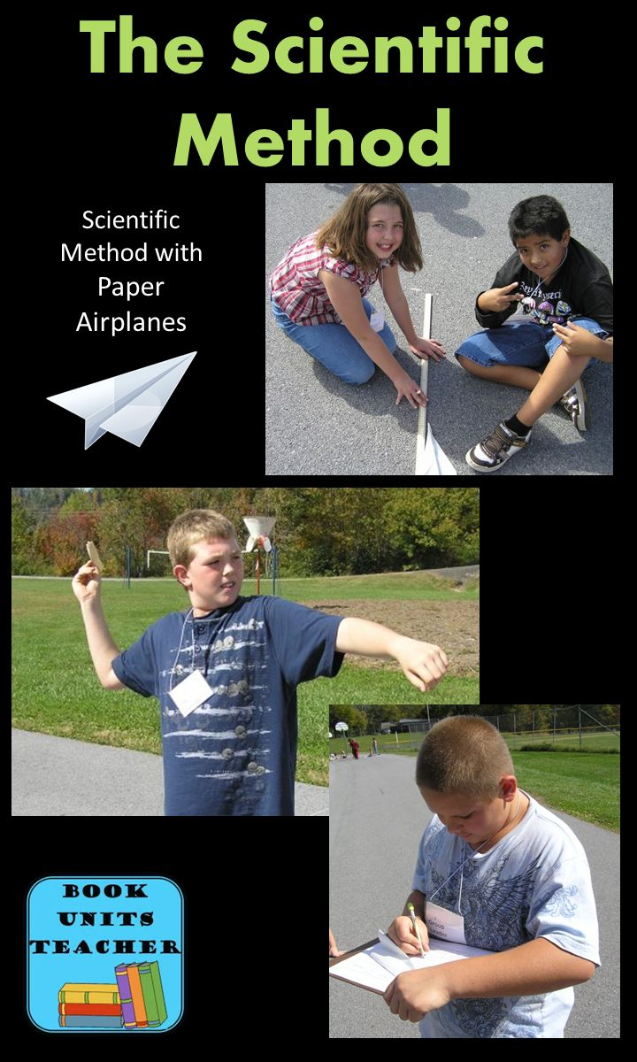 """Check out how to teach students the """"Scientific Method"""" using this simple yet effective experiment with paper airplanes."""