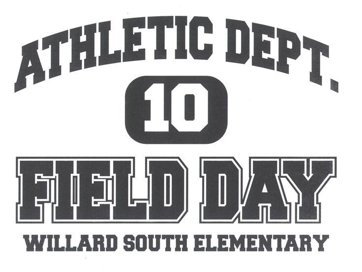 Field Day Logo | Field Day T-Shirt Design | Pinterest | Field day ...