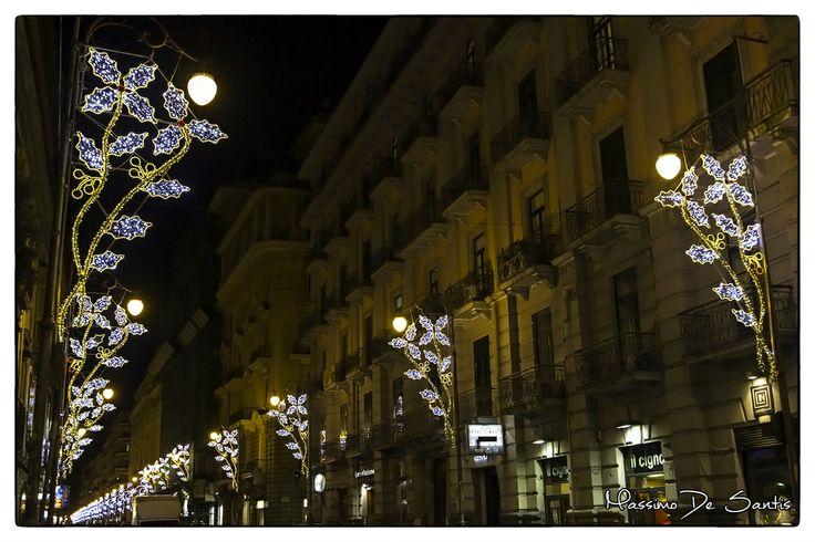 Luci d'Artista Salerno 2013 #photography #christmas #christmaslights #italy #salerno www.lucidinatale.net