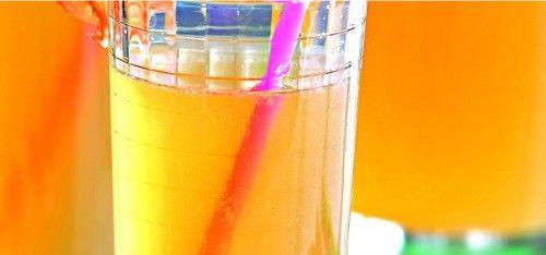 Домашний лимонад с грейпфрутами