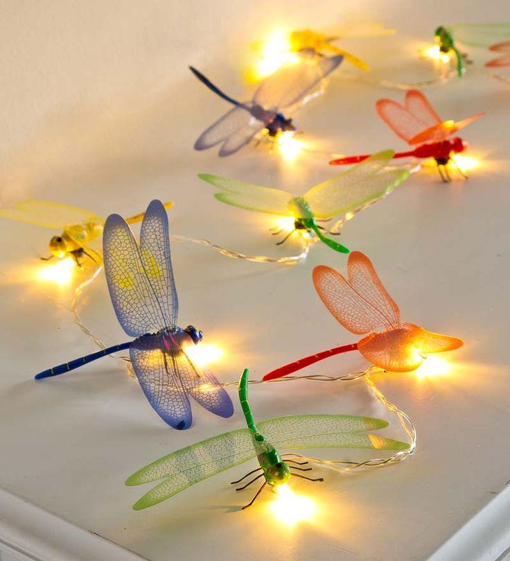 Dragonfly String Lights Kids Rooms Pinterest