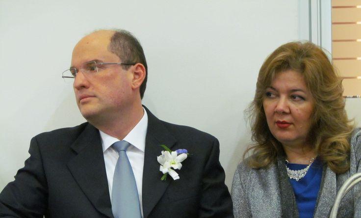 Padrino de la boda y dama de honor