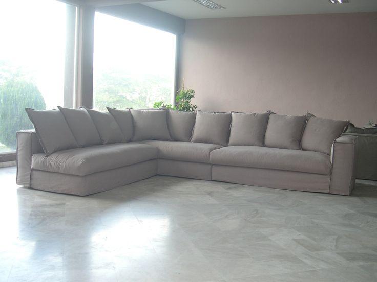 Cozy corner handmade sofa