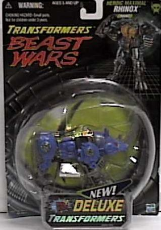 Beast Wars Transformers Transmetals Fox Blue Rhinox Transformer Action Figure By Hasbro >>> Click image for more details.Note:It is affiliate link to Amazon.