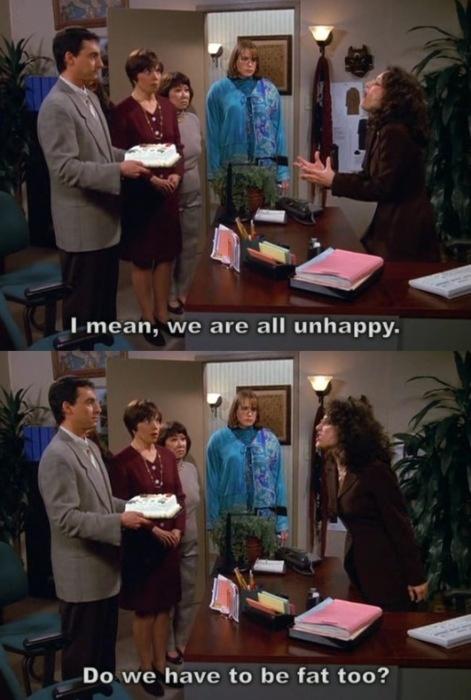 Life according to Elaine Benes