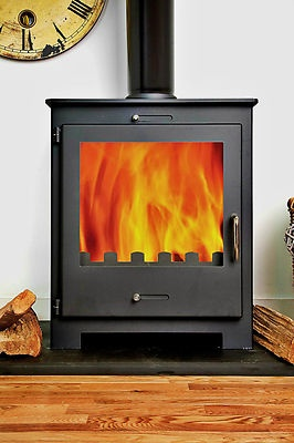 11kw NERO Contemporary Modern Woodburning Stove Stoves £369