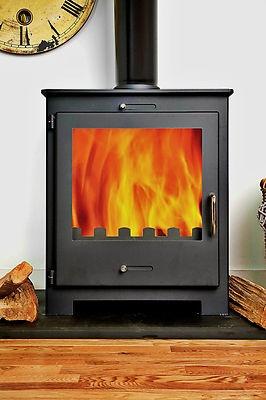 11kw NERO Contemporary Modern Woodburning Stove Stoves £369