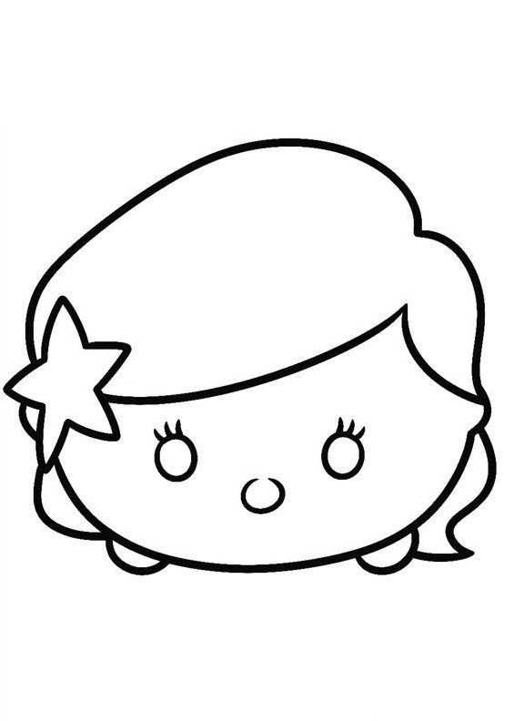 Tsum Tsum Coloring Pages Tsum Tsum Coloring Pages Coloring Pages Disney Coloring Pages