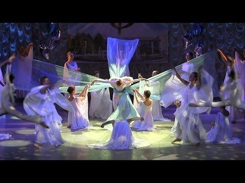 Hallelujah Dance Аллилуйя Роза ветров танец Синяя птица - YouTube