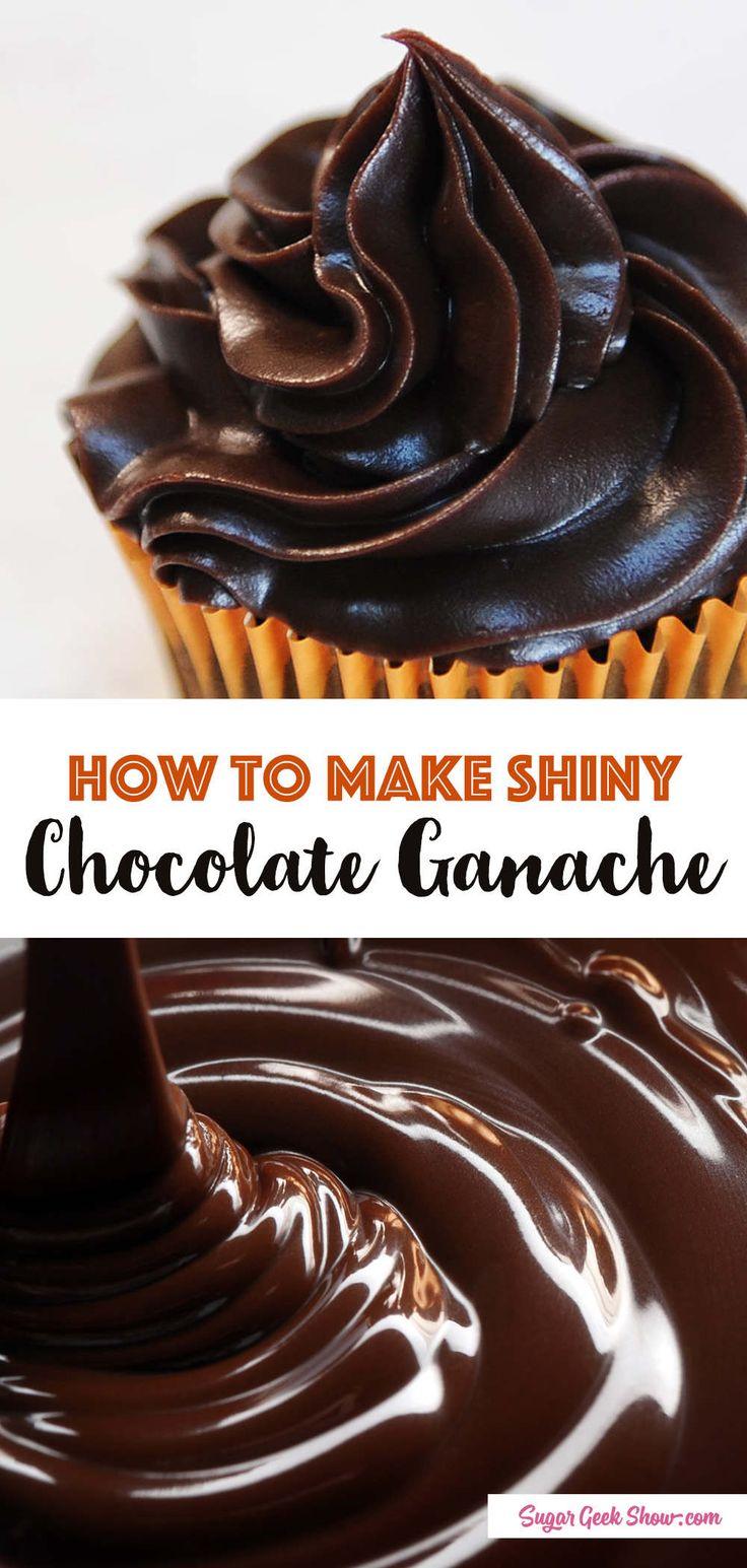 The Best Chocolate Ganache