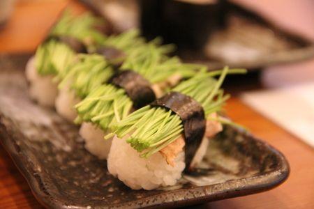 芽ネギ寿司の画像:PALOS CLOTHING フィットネスブログ