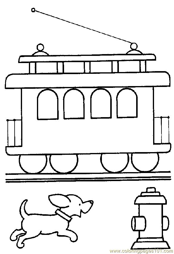 12 best trains images on Pinterest Coloring sheets Coloring