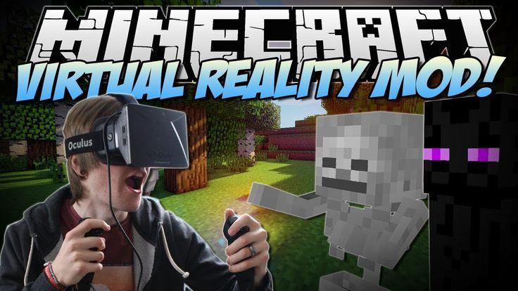 nice Watch Minecraft | VIRTUAL REALITY MOD! (Razer Hydra & Oculus Rift!) | Mod Showcase