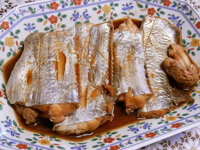 タチウオの煮付けの画像