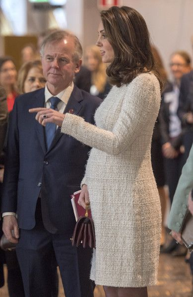 Kate Middleton Photos - Catherine, Duchess of Cambridge meets with academics and practitioners to discuss Sweden's approach to managing mental health challenges during day two of her Royal visit to Sweden and Norway with Prince William, Duke of Cambridge on January 10, 2018 in Stockholm, Sweden. Their Royal Highnesses also heard about the Youth Aware of Mental Health (YAM) programme run by the National Association for Suicide Research and Prevention of Mental Ill Health (NASP).