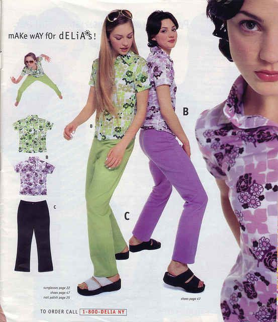 Bright graphic button-ups with matching pants. | 31 Things You Desperately Needed From The Delia's Summer '96 Catalog
