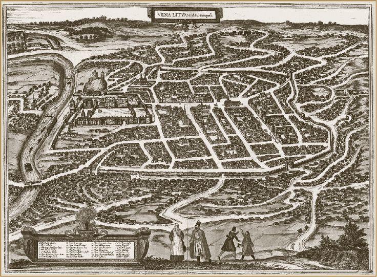 План города Вильно. Европейская гравюра. 1599 г..gif (990×728)