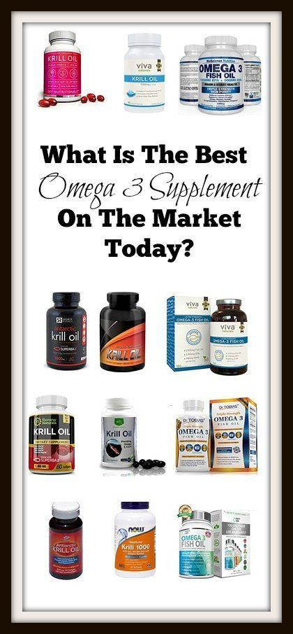 What Is The Best Omega 3 Supplement On The Market Today?