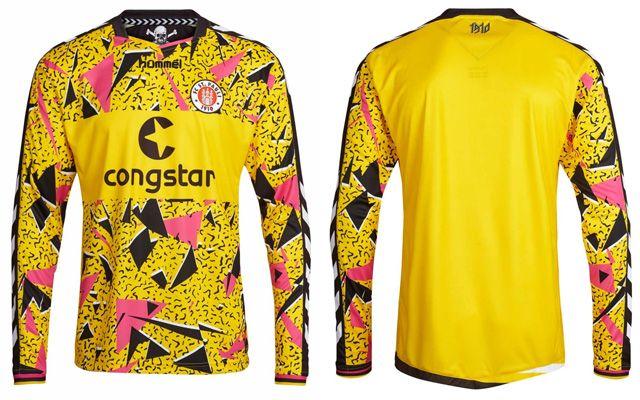 Camisa Goleiro St. Pauli 2015-2016 Hummel