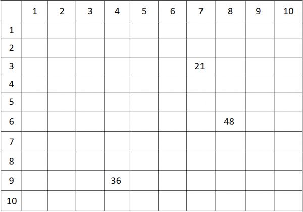 137 best images about tables de multiplication on for Les multiplications