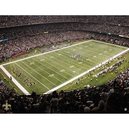 Artissimo Designs NFL Saints Stadium Canvas, 22x28, Multicolor