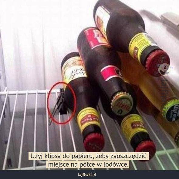 Mało miejsca w lodówce? -
