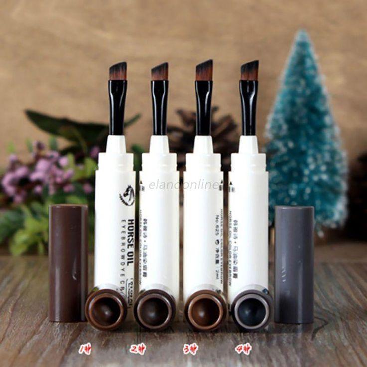 Makeup Eyebrow Mascara Cream Eye Brow Shadow Kit Waterproof Dye Eyebrow Gel Hot #Unbranded