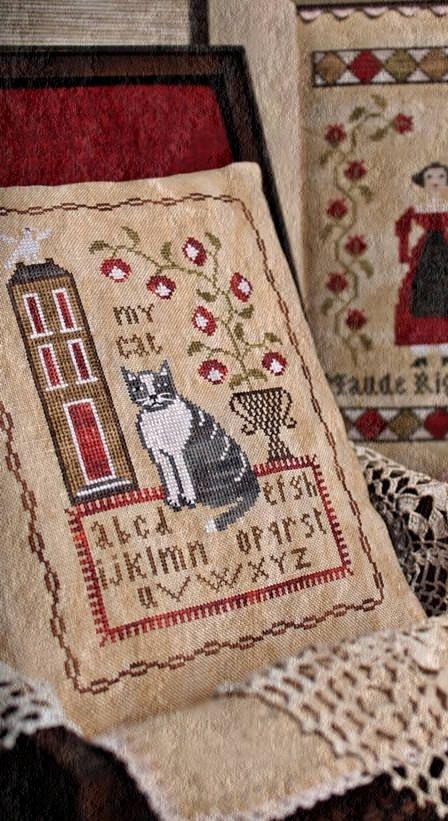 My Cat / Cross stitch pattern / PDF