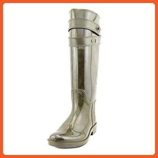 Coach Talia Tall Womens US 10 Green Rubber Rain Boots - Boots for women (*Amazon Partner-Link)