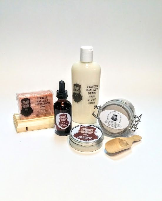Stanley Manley beard care products available at Harold + Ferne: The Local Goods Co.