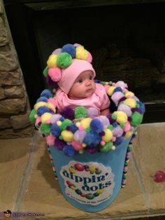 Dippin' Dots - Creative Baby Halloween Costume Idea