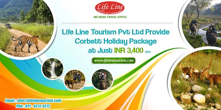 Life Line Tourism Provide Corbett Holiday Package at Just INR 3,400 Per Person Include : All Meal +  2 Nights 3 Days Accommodation  + Bone Fire  + Every Night Wild Life Show  More : http://www.lifelinetourism.com/Jim-Corbett-Tour/