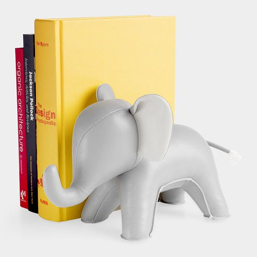 bookendMoma Stores, Stuff, Weights, Christmas, Kids, Hair Chains, Bookends Design, Baby Nurseries, Elephant Bookends