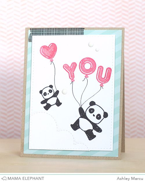 mama elephant | design blog: STAMP HIGHLIGHT : BALLOON LETTERS & BALLOON ET CETERA