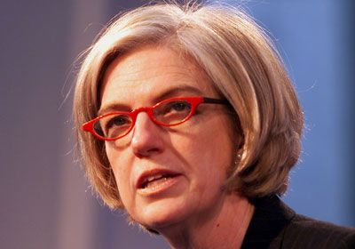 Dame Marjorie Morris Scardino (born 25 January 1947 United States) is the former CEO of Pearson PLC. She became the first female Chief Executive of a FTSE 100 company when she was appointed CEO of Pearson in 1997. During her time at Pearson, she had tripled profits to a record £942m.