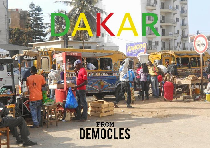 From DEMOCLES Dakar city 2014 trip