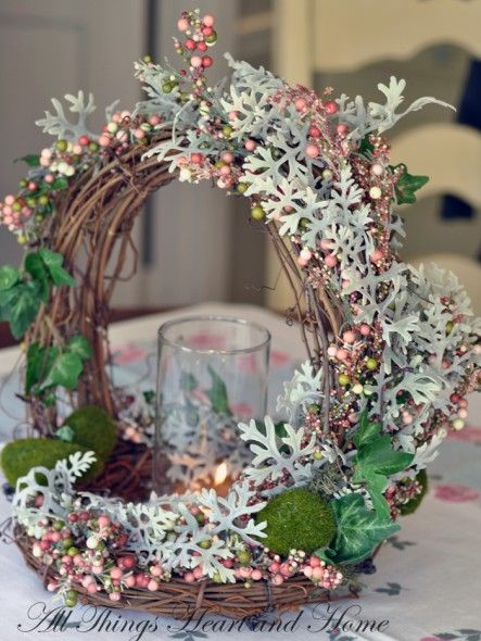 Woodland Basket (Easter) Centerpiece! - All Things Heart and Home