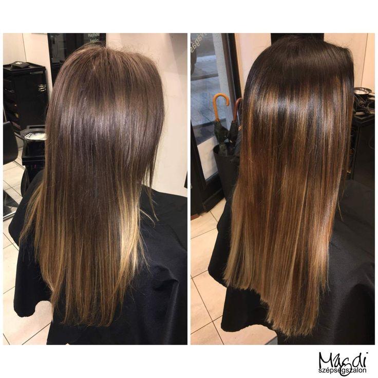 Hajfestéssel az ápolt csillogó hajért! Hogy tetszik Szandi festése? :)  #hairstyle #hair #hairfasion #haj #festetthaj #coloredhair #széphaj #szépségszalon #beautysalon #fodrász #hairdresser #ilovemyhair #ilovemyjob❤️ #hairporn #haircare #hairclip #hairstyle #hairbrained #haircut #hairsalon #hairpro #hairup #hairdye #hairstylist #haircuts #hairoftheday #hairgoals #hairideas #haircolor #hairstyles