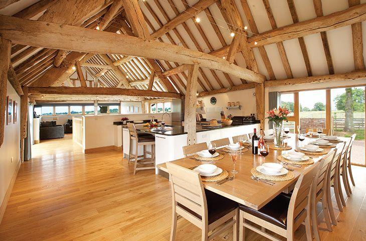 Wall Hills Barn - Holiday Cottage in Thornbury, Bromyard, Herefordshire