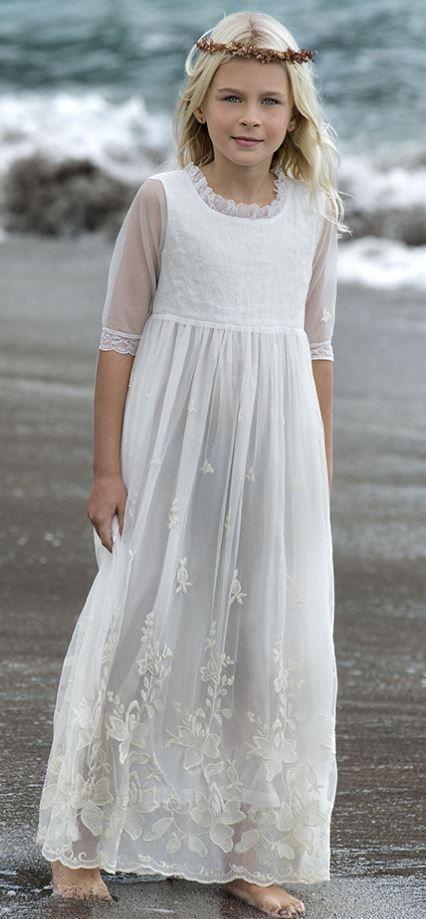 Vestido Comunión tul de Sainte Claire