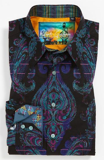 Robert Graham 'Royal' Sport Shirt | Nordstrom