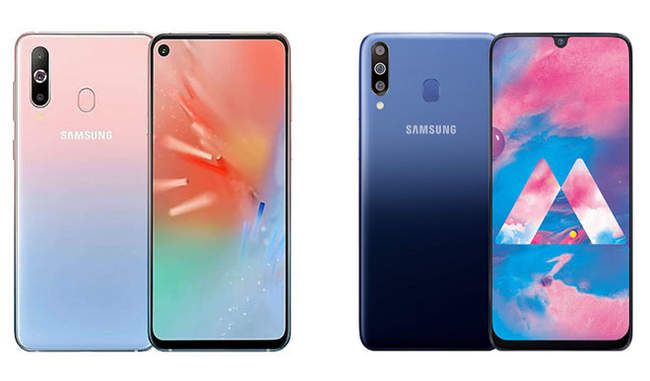 Samsung ग ल क स ए60 और ए40एस ल न च इनम ह ट र पल र यर क मर Samsung Galaxy Samsung Galaxy