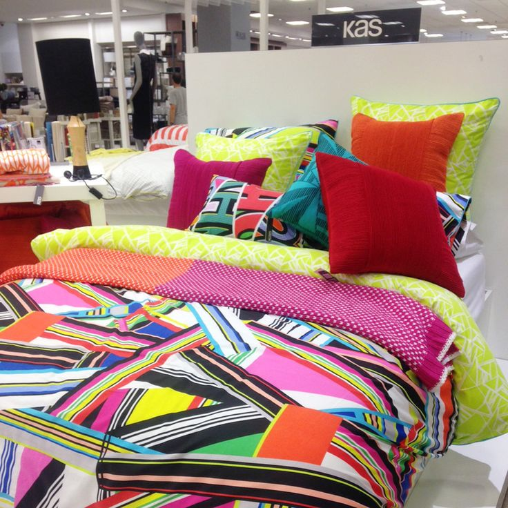 Our 'Baleno' quilt cover set on display at @Myer Bondi Junction#loveKas